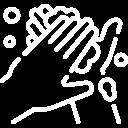 Po wejściu prosimy o dezynfekcję dłoni - płyn znajduje się na ladzie recepcyjnej, naprzeciwko wejścia.